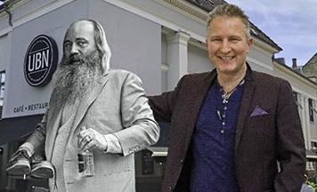Solkongen Simon Spies - Foredrag med Stig Ulrichsen